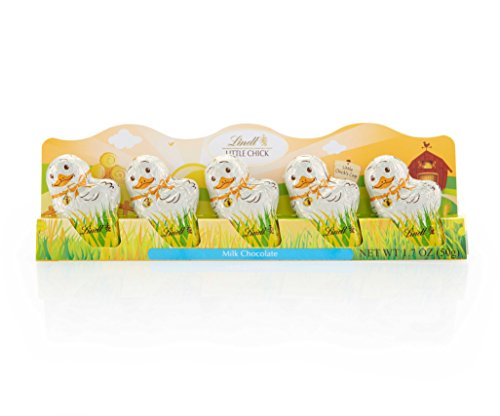 Lindt Little Chicks, Milk Chocolate, 5-pack