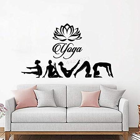 xingbuxin Tatuajes de Pared India Yoga Studio Art Vinilo ...