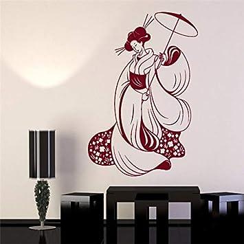 Sticker Da Muro Personalizzati.Wangpdp Pretty Japan Woman Decalcomania Da Muro In Vinile
