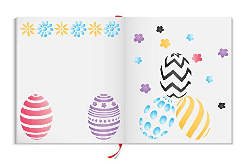 EASTER EGGS Stencil - (size 7