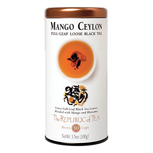 The Republic of Tea Mango Ceylon Full-Leaf Black Tea
