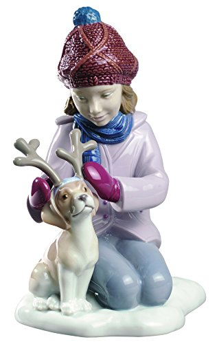 Lladro My Little Reindeer Figure by Lladro