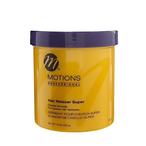 - Professional Hair Relaxer Super. Classic Formula. For Coarse Hair Structures. - by Motions