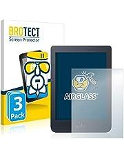 BROTECT Glas Screenprotector compatibel met Kobo Nia (3 Stuks) - Beschermglas met 9H hardheid