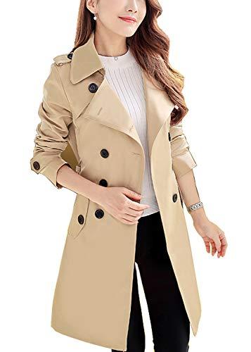 卡其色风衣外套,四季皆宜的英伦时尚经典