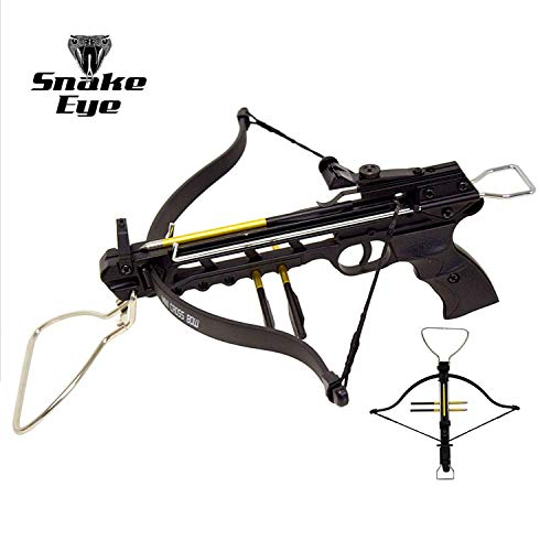 Snake Eye Tactical Pistol Crossbow 80-Pounds