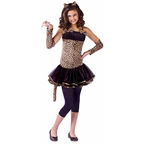 Wild Cat Child Md 8-10 (Kitty Cat Halloween Costume Makeup)
