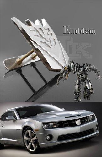 Transformer Decepticon Metal Front Mesh Grille Emblem