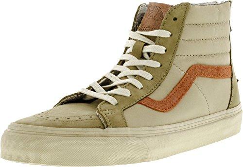 Vans Sk8-Hi Zip Sneakers (Leder / Nubuk / Wildleder) Braun Damen Seestern
