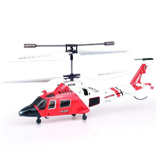 Genuine Syma S111G 3.5 Channel RC Helicopter with Gyro US Shipper