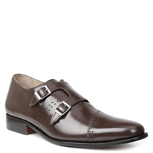 carbonne Mens Slip On 8 D(M) US Brown Giorgio Brutini