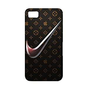3D Classical Louis and Vuitton Pattern Nike Logo Cover Case for Blackberry Z10 Just Do It Nike Logo Phone Case