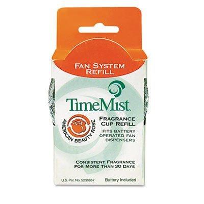 TimeMist 304602TM American Beauty Rose World Of Fragrance Refill NonMetered Air Freshener (Pack of 12)