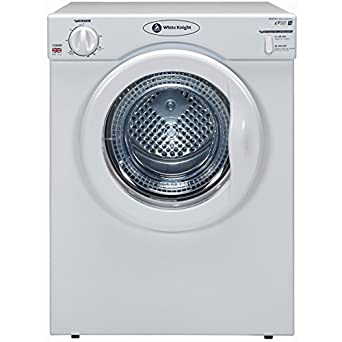 white knight wk38aw compact reverse action tumble dryer 3kg capacity 2 heat settings white. Black Bedroom Furniture Sets. Home Design Ideas