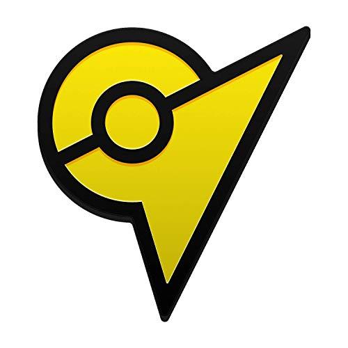 Pokemon Go Gym Badge Hard Enamel Pin Instinct Yellow Clasping Back Display Case