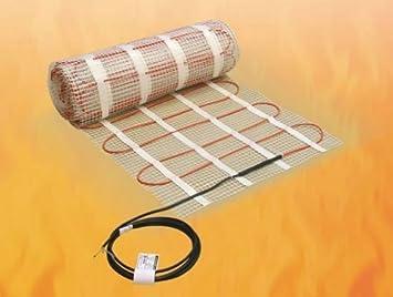 Fußboden Quadratmeter Berechnen ~ Elektrische fußbodenheizung ecofloor comfortmat für fliesenböden 0