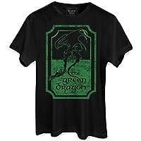 Camiseta Masculina O Senhor dos Anéis The Green Dragon