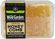 Wild Garden 100% Pure Raw Gourmet Honeycomb, 100% All-Natural, No Additives, No Preservatives, Fresh From The