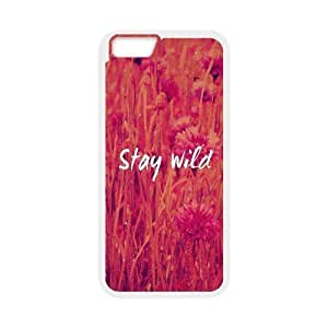 Cases for IPhone 6 Plus, Stay Wild Cases for IPhone 6 Plus, Psychedelic Anime White