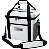 Igloo 24-Can Square Marine Ultra Cooler Comfort Wrap Handle and Shoulder Strap