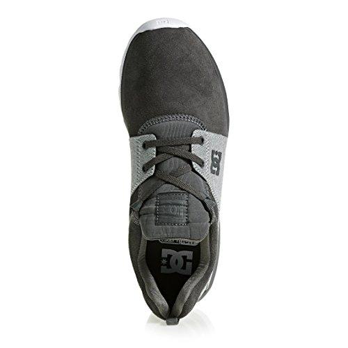 Dc Uomo grey Se Xskg Heathrow Grey Sneakers M Da white Shoe 7q7Sr