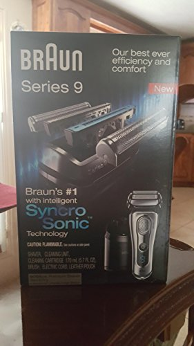 Braun Series 9-9095Cc Wet and Dry Electric Shaver With Cleaning Center