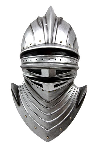 Atlantic Collectibles Large Suit of Armor Medieval Knight Bust Wall Plaque - Collectible Plaque Wall