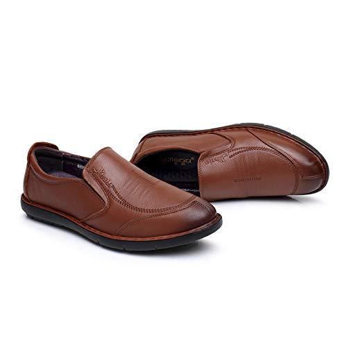 Scarpe Basse Scarpe Scarpe da Feet Casual of Antiscivolo da Comode Uomo Lavoro Brown Basse Set R7YRa
