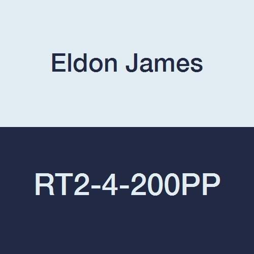 1//8 x 1//4 Hose Barb 1//8 x 1//4 Hose Barb Eldon James RT2-4-200PP Polypropylene Reduction Tee Pack of 10 Pack of 10