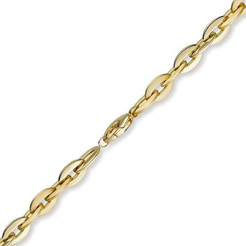 8,5 Mm couleur fantaisie les bracelets bracelet en or jaune 585 21 cm