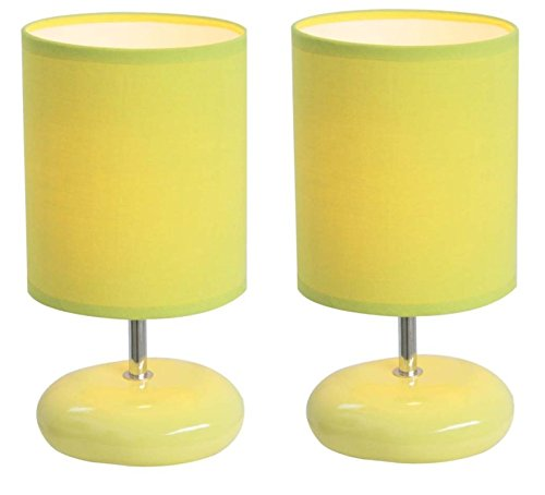 "Leah 10.24"" Table Lamp (Lime/Green)"