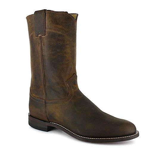 Justin Boots Stile Boot Boot # 3408 Apache Bay Uomo Misura 6,5 ee