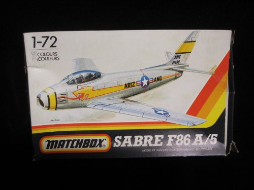 1980 Matchbox Sabre F86 A/5 1:72 Model Kit ()