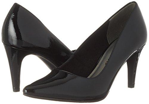 Tamaris Noir Escarpins 22447 black Femme Patent FcFPaBwq