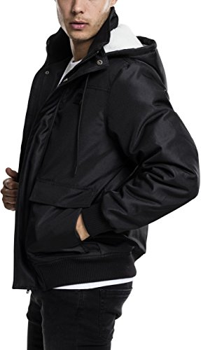 Urban Black Chaqueta 7 Jacket Negro Hombre para Heavy Classics Hooded UgqwZBU