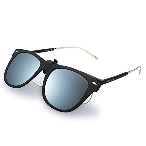 de 2 Ultralight 1 Opcional 3 Color Clip Driver Mirror BEI Sol Myopia Driving Polarized Gafas HT Color Espejo EwB1CgqE