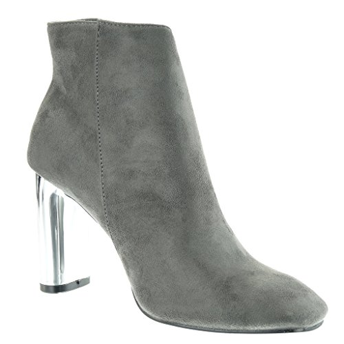 low m Femme boots Angkorly Mode Chaussure Bottine Chic qHt1pR