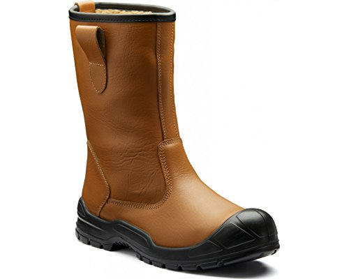 12 Fa23350s marrone rigati taglia chiaro da 12 Rigger Dickies Duke stivali a8Wqad