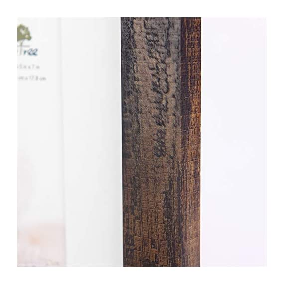 Scholartree Wooden Brown 5x7 Picture Frame 3 Set in 1 Pack or 5x7 Frame or 11x14 Photo Frame - ELEGANT DESIGN: 5x7 Picture Frame made to display 5x7 inches pictures without Mat or 4x6 inches photos with Mat. The picture frame is designed with hooks and brackets that can be displayed on the table and wall. HIGHEST QUALITY: 5x7 frames are made of MDF(a kind of hard wood) and real inorganic glass. It make the frame strong and the real glass has high transparency. The frame includes built-in metal tabs for easy access to display your photos, cards and memories. ATTRACTIVE LOOK: White coloured mat keeps photos and artwork looking great for years. Turn your portraits, artful prints and everyday shots into a spectacular display. The actual mat opening is designed to hold a 4x6 inch photo in place. We recommend taping the photo to the back of the mat. - picture-frames, bedroom-decor, bedroom - 41dGpdjIPAL. SS570  -