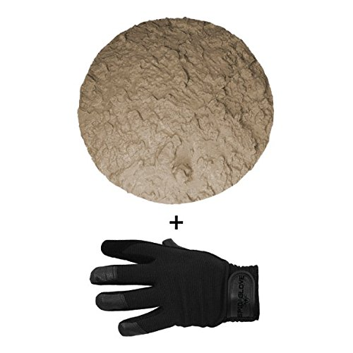 SpidaStamp & SpidaGlove   Concrete Texturing System for Stepping Stones, Landscape Edging, or Decorative Concrete. (Half Moon Bay Boulder) - Faux Stepping Stones
