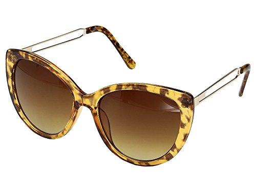 Steve Madden Women's Clover Tortoise - Sunglasses Madden