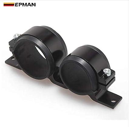 amazon com epman dual twin fuel pump mount bracket 60mm \u0026 fuel Diesel Fuel Filters epman dual twin fuel pump mount bracket 60mm \u0026 fuel filter clamp 50mm cradle for car