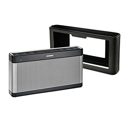 Bose SoundLink III Bluetooth Speaker Bundle w/ Charcoal Blac