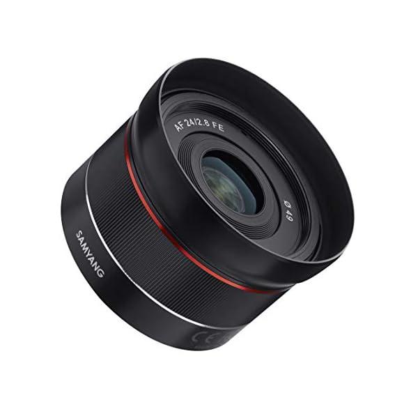RetinaPix Samyang 24-24mm F/2.8-22 Prime Fixed F2.8 Auto Focus Wide Angle Lens, Black (SYIO24AF-E)