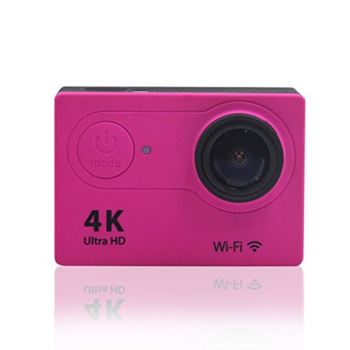 Xuanhemen H9 Action Camera 4K WiFi Waterproof Sports Cam 170 Degree Wide-Angle Lens Sports Camera Camcorder by Xuanhemen
