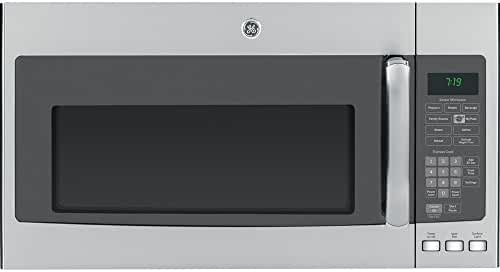 GE JVM7195SFSS 1.9 Cu. Ft. Over-the-Range Sensor Microwave Oven, Stainless Steel