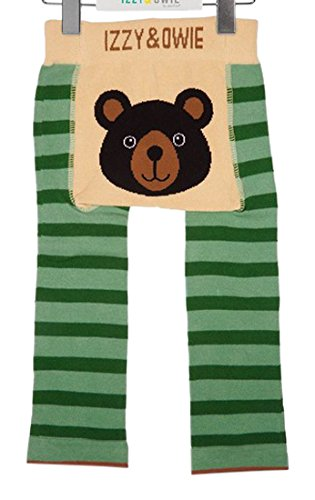 Izzy and Owie Boys' 6-12 Months, Green, One Size