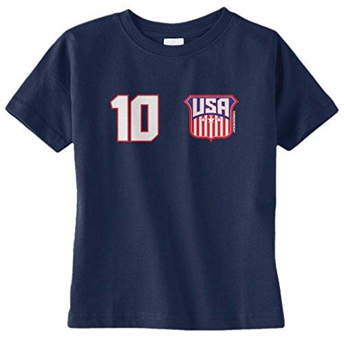 Threadrock-Unisex-Baby-USA-Soccer-Number-Design-Infant-T-Shirt