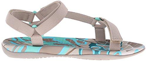 Skechers Cali viajeros rocío de la mañana del deporte de la sandalia Taupe