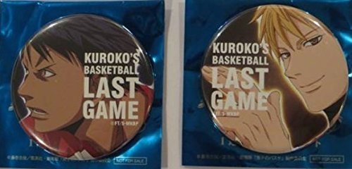 Theatrical Kuroko's Basketball admission cans badge Ryota Kinose Daiki Seiho set